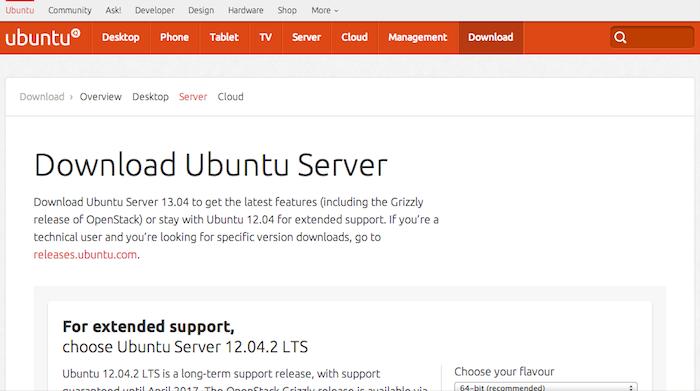 Download Ubuntu Server 12.04