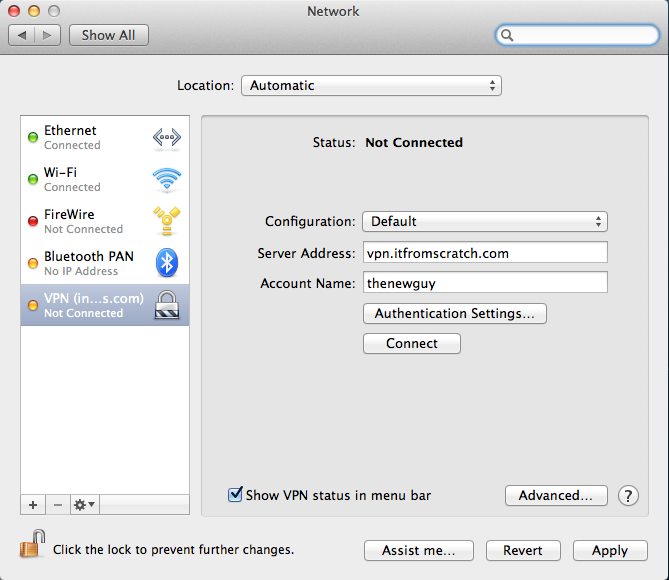 Cannot remove Mac VPN profile